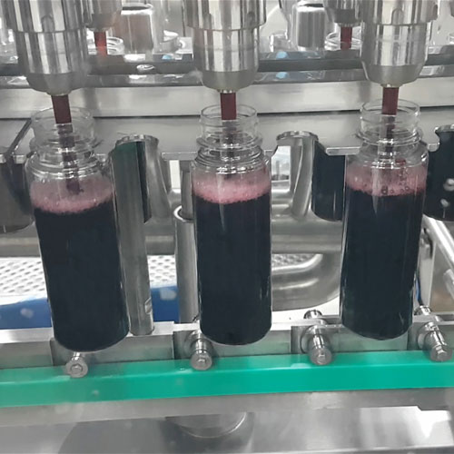 Inline Bottle Filling Machine