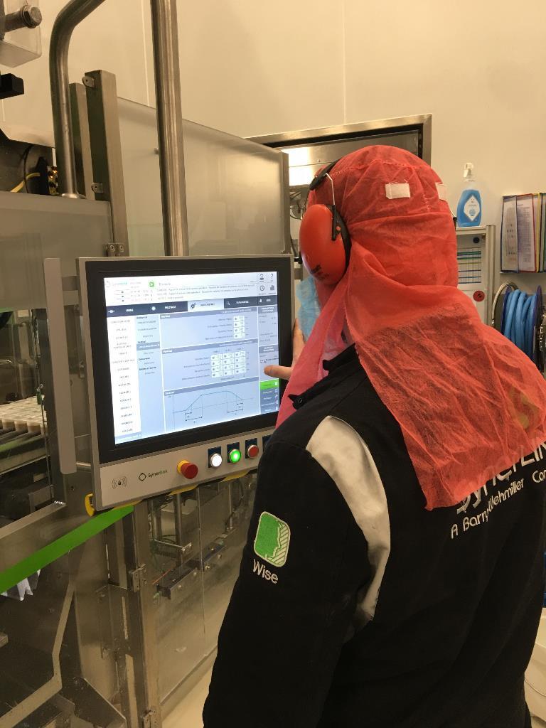 Operator on Efidrive control panel