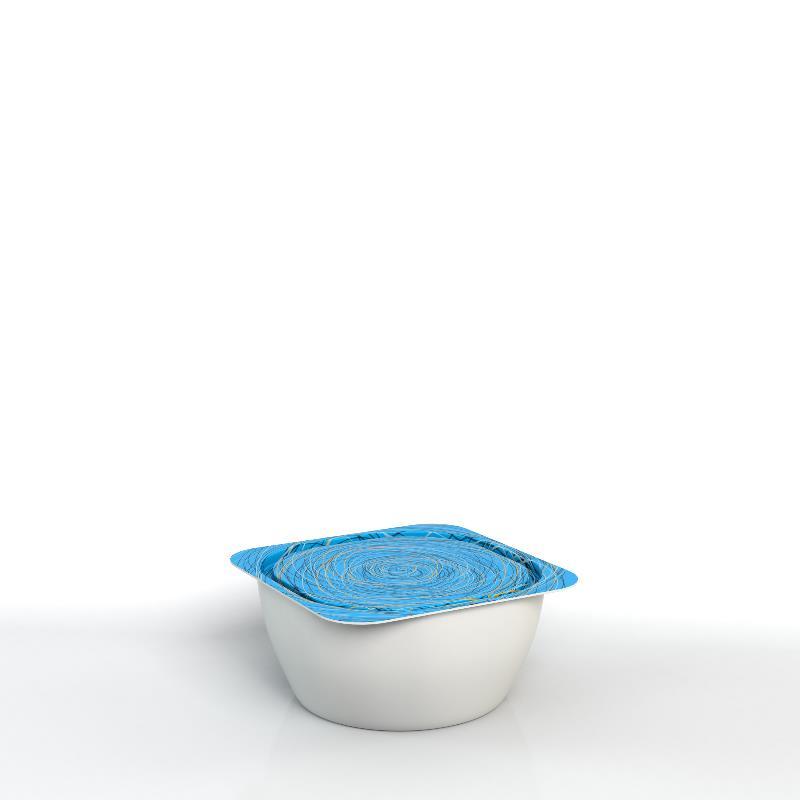 Grand pot avec couvercle façonné