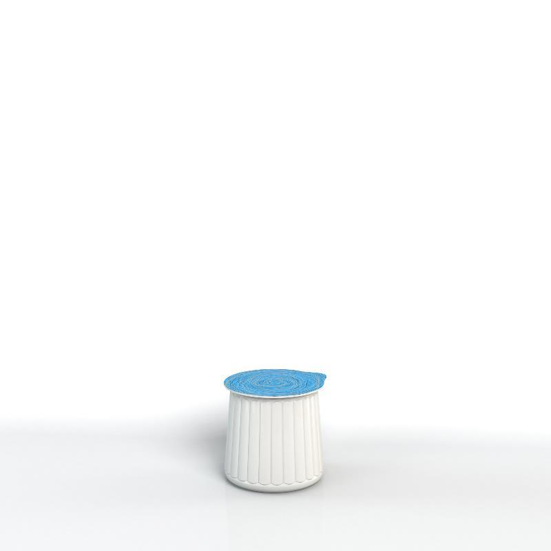 Pot avec moule ouvrant sans étiquette